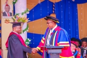 Photos: Jomvu Mp Badi Twalib graduates from Mount Kenya university