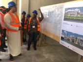 Balala inspects construction of cruise ship terminal at Mombasa port